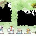 Рамки детские (38) - 1800x1200 png