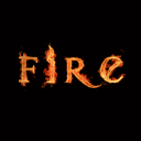 Шрифты - огненный eng