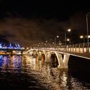 Ночь, вода, фонарь, мост...