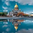 Петербург в отражениях4