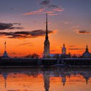 Закаты Петербурга
