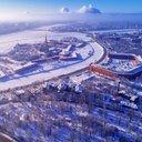 Снежный Петербург...