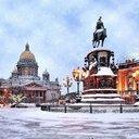 Сежный Петербург...