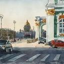 Живописный Петербург Сергея Алексеева