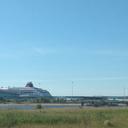 Морской вокзал, океанские лайнеры...